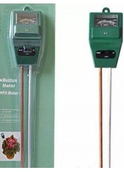 Измеритель кислотности pH, влажности и освещенности почвы (3 в 1) 1 шт