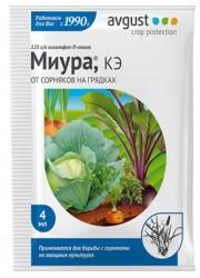 Миура - для борьбы c сорняками на овощных культурах, 4 мл