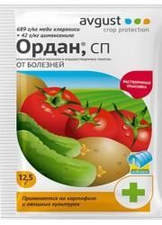 Ордан - средство от болезней томатов, огурцов и картофеля 12.5 г